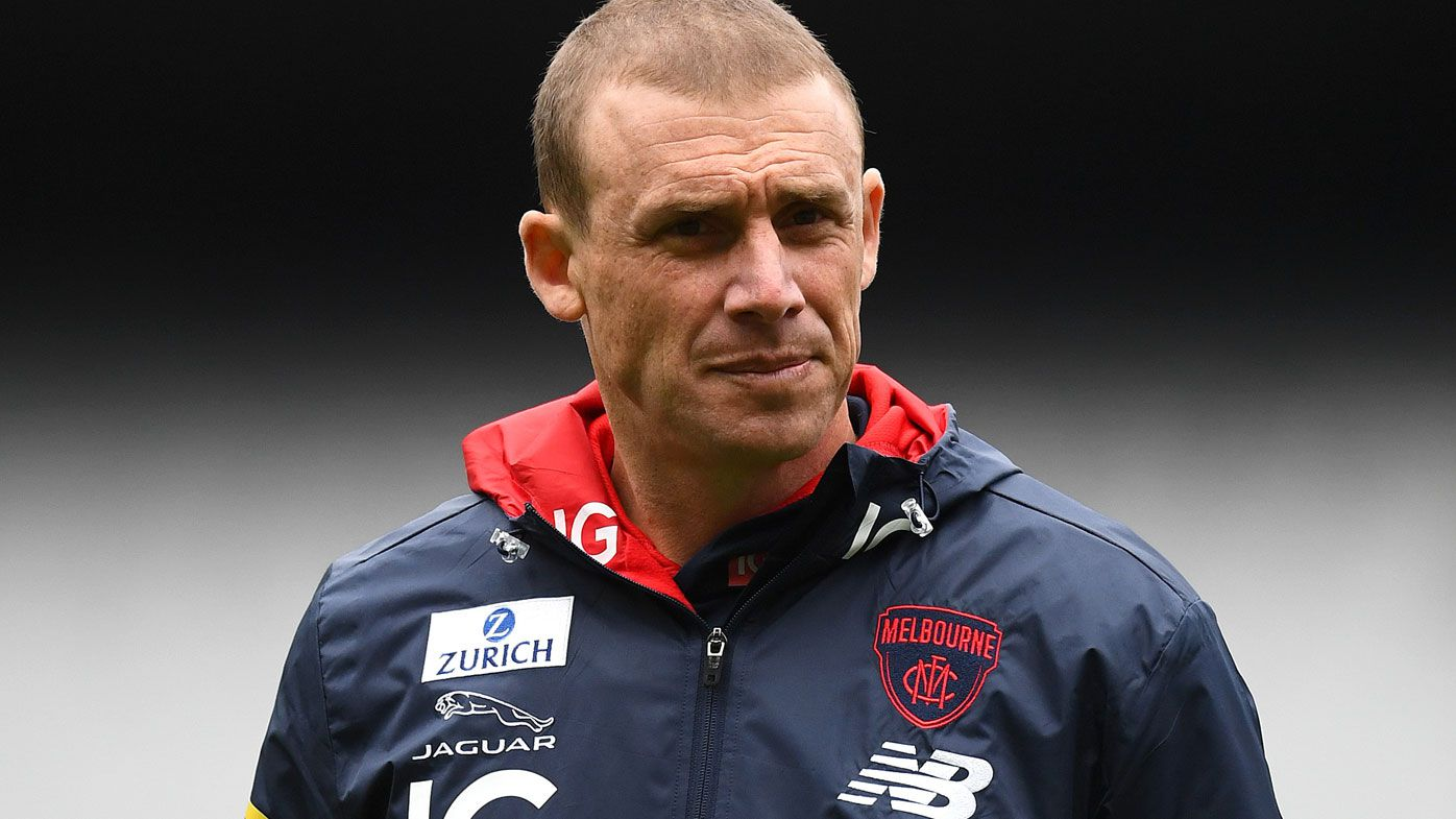 Demons coach Simon Goodwin's job is 'under the pump' according to Shane Crawford