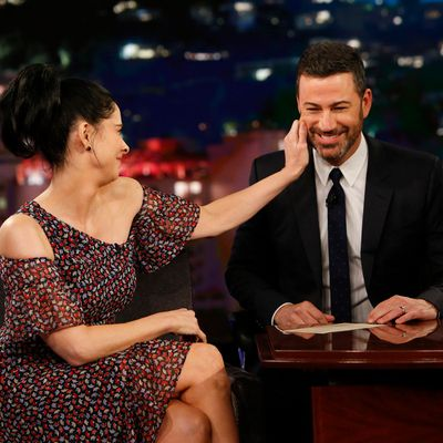 Sarah Silverman and Jimmy Kimmel