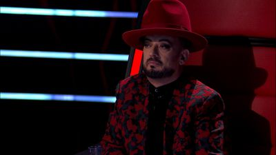 Boy George appeared confused