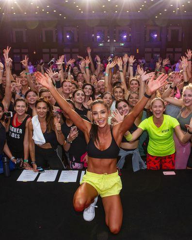 Fitness mogul Kayla Itsines