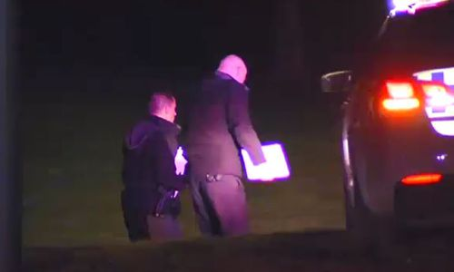 The motive behind the stabbing is not yet known. Picture: 9NEWS
