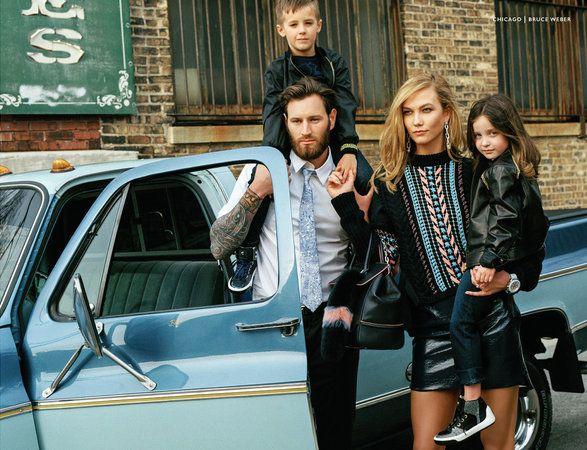 Gigi Hadid and Karlie Kloss are 'cool mums' for Versace