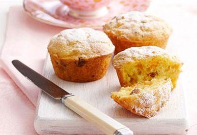 Gluten-free orange and carrot muffins