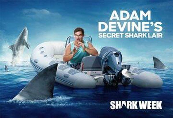 Adam Devine's Secret Shark Lair
