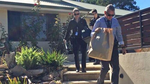 Coulter was charged after police raided properties in Perth and regional WA.