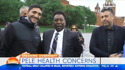 Football: Pele's adviser denies reports he collapsed