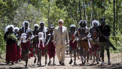 Prince Charles in Australia, 2018.