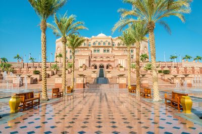 Emirates Palace Hotel in Abu Dhabi, UAE