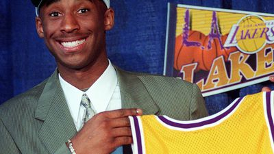 1996: Bryant was a 17-year-old kid when he entered the NBA and had a childlike grin when the Lakers introduced him as the newest member of their franchise. He never played for another.