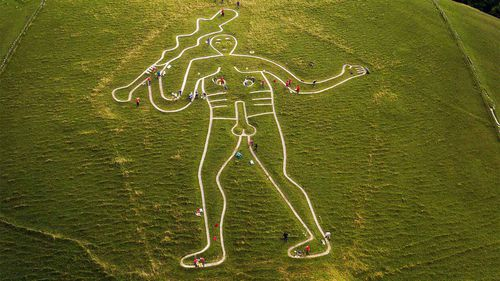 The Cerne giant is much younger than thought.