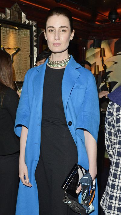 Model Erin O'Connor at the London premiere