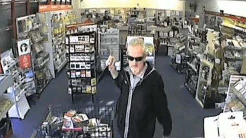 Australia Post employee Stephen Hodge brought a knife into the Warners Bay post office in September 2015. (9NEWS)