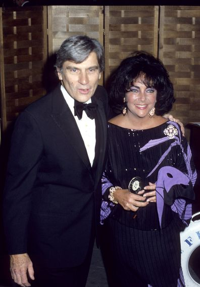 John Warner, Elizabeth Taylor