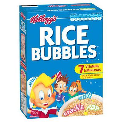 <strong>Rice Bubbles (2.3 grams of fibre per 100 grams)</strong>