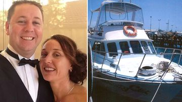 Damien Mills died in 2014 after he fell overboard while on a cruise carrying 36 people from Fremantle to Rottnest Island.