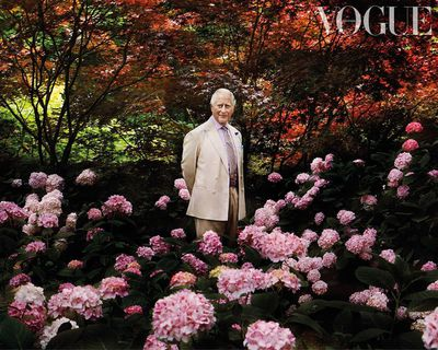 Prince Charles for British Vogue, November