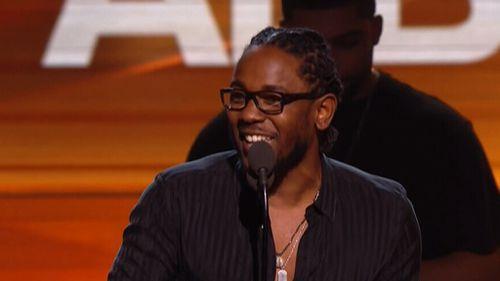 Kendrick Lamar has won Best Rap Album for To Pimp a Butterfly. (FOX8)