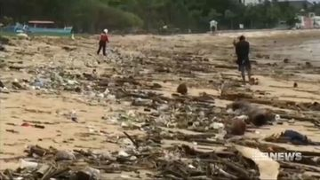 Bali pollution