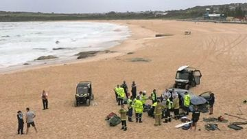 Maroubra Beach crash