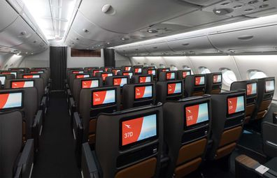 Qantas' upgraded A380 aircraft Premium Economy