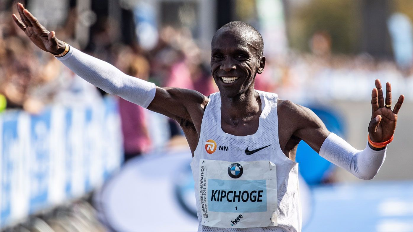 Kenyan Eliud Kipchoge shatters world record winning Berlin marathon