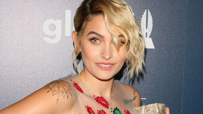 Paris Jackson attends the GLAAD Awards, 2017.