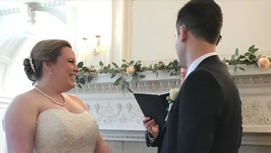 Deaf groom gets cochlear implant