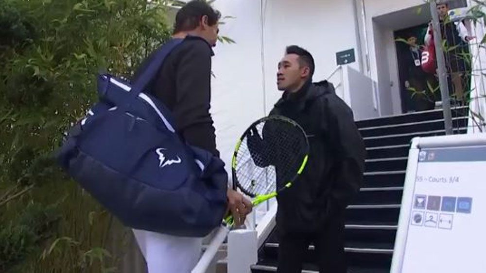 Paris Masters security guard fails to recognise Rafael Nadal & refuses him entry
