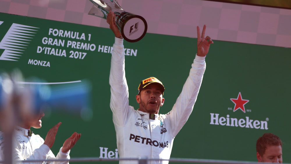 Lewis Hamilton booed after winning Italian Grand Prix while Daniel Ricciardo finishes fourth