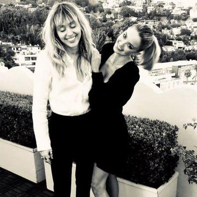 Miley Cyrus, Kaitlynn Carter, birthday, celebration, photos, Instagram, hugging