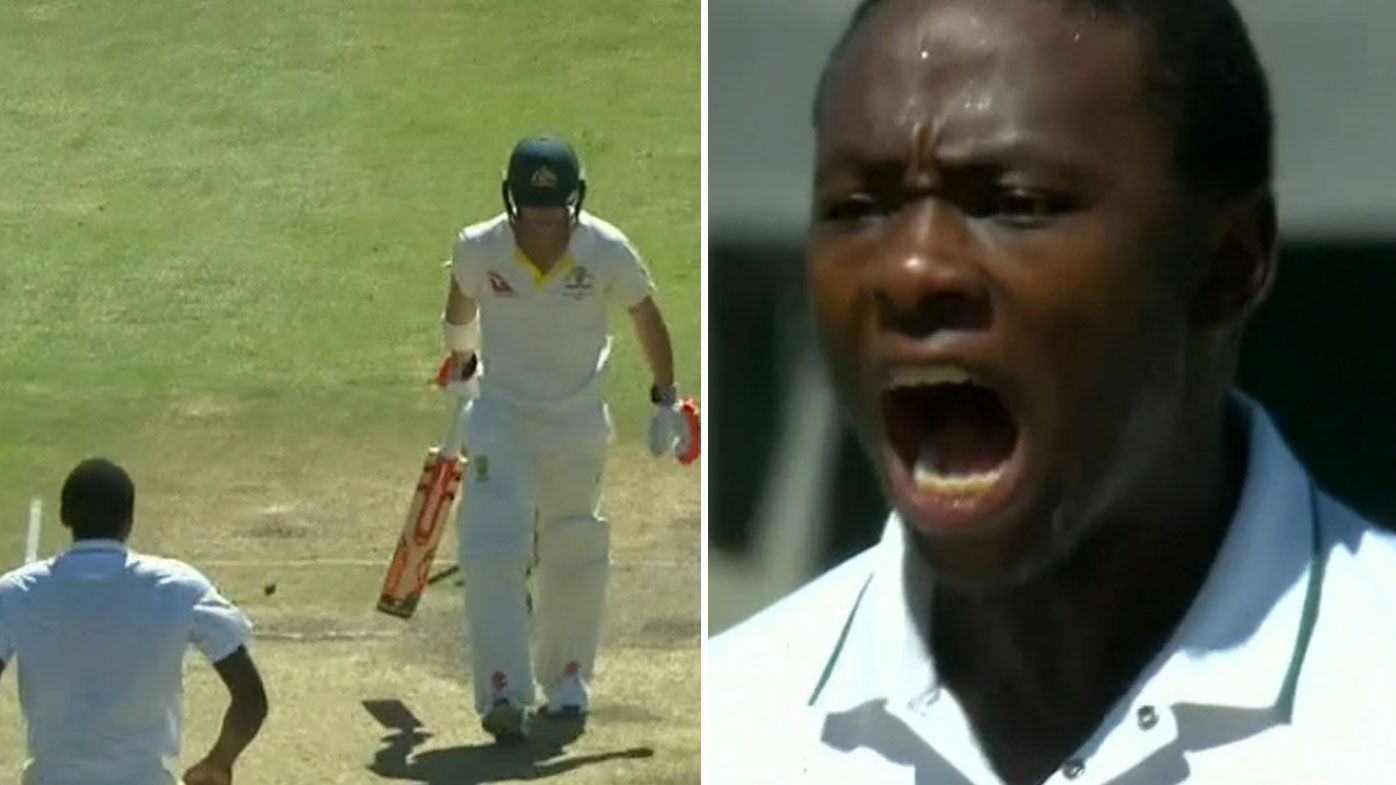 Rabada charged over David Warner send-off