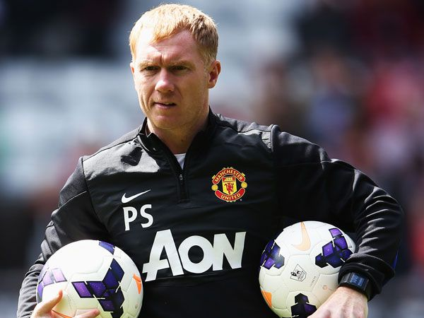 Paul Scholes. (Getty)