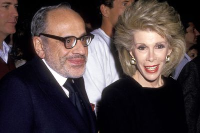 In 1987, Joan's husband Edgar Rosenberg died of a prescription drug overdose. <br/><br/>Rivers blamed Fox for humiliating her husband, after the network fired them both from <I>The Late Show starring Joan Rivers</i>. <br/>