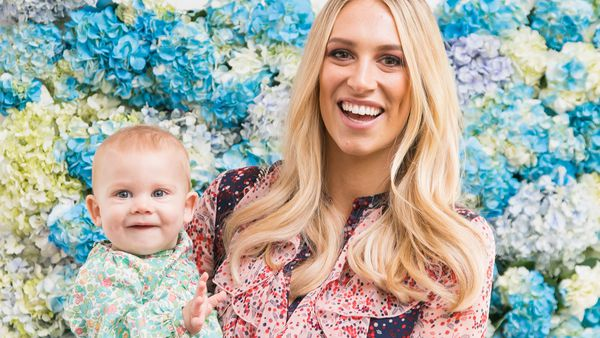 Earth mother: Phoebe Burgess, wife of rugby star, Sam Burgess on being a new parent. Image: supplied