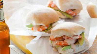 "Recipe:<a href=""http://kitchen.nine.com.au/2016/05/04/15/23/hayden-quinns-prawn-and-avocado-rolls-with-homemade-seafood-sauce"" target=""_top"">Hayden Quinn's prawn and avocado rolls with homemade seafood sauce</a>"