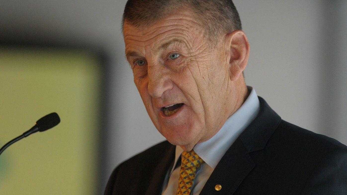 Hawthorn president Jeff Kennett