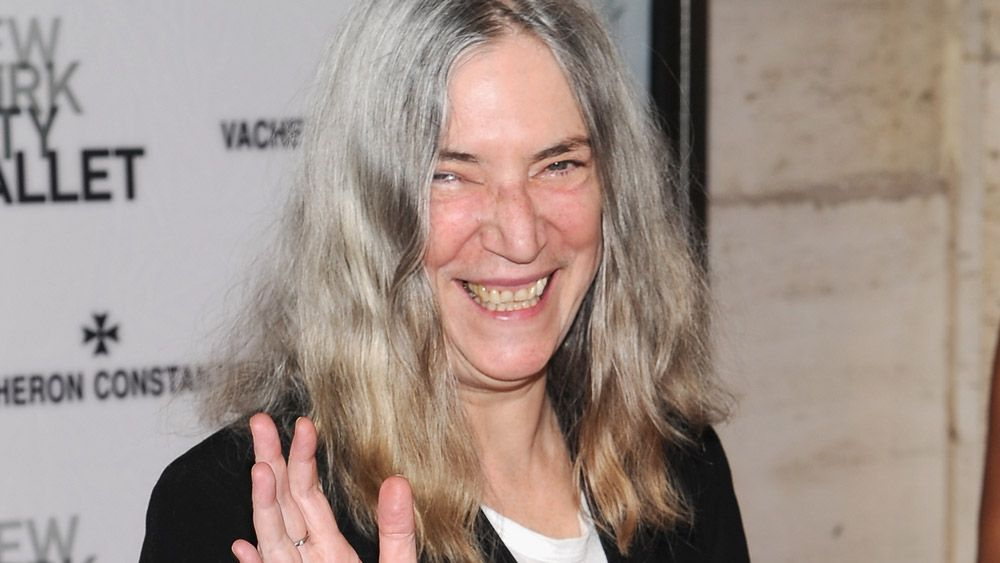 Patti Smith has been reunited with clothes stolen almost 40 years ago