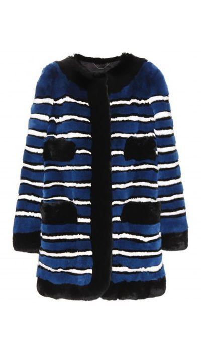 """<a href=""""http://www.mytheresa.com/en-au/fur-coat-365915.html""""> Fur Coat, $7749, Marc Jacobs</a>"""