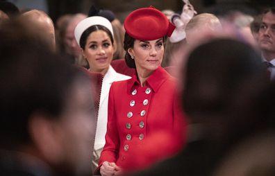 Duchess of Cambridge attends Commonwealth service