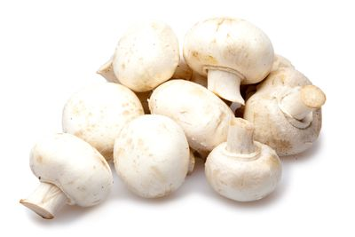 White button mushrooms: 10-20 micrograms per ½ cup (125ml)