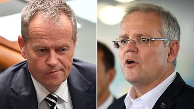 Morrison: 'I'm just sticking to the job' as poll predicts wipe out