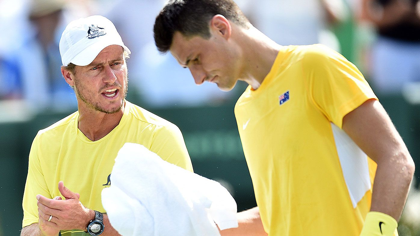 Lleyton Hewitt accuses Bernard Tomic of physical threats