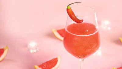 "Recipe: <a href=""http://kitchen.nine.com.au/2017/03/17/11/05/the-spark-by-fernando-alonso-sparkling-grapefruit-cocktail"" target=""_top"">The Spark by Fernando Alonso (sparkling grapefruit cocktail)</a>"