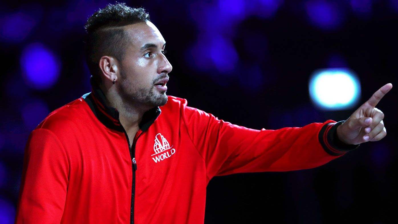 Nick Kyrgios opts against appealing suspension, sends 'best behaviour' message