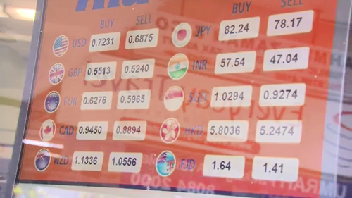 Banks will offer different amounts no matter the exchange rate.