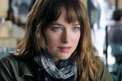 Starring in minor roles before 2014, Dakota Johnson is set to be a household name when she appears alongside Jamie Dornan in racy romp-fest <i>Fifty Shades of Grey</i>.<br/><br/>Image: <i>Fifty Shades of Grey</i>, Universal Pictures.
