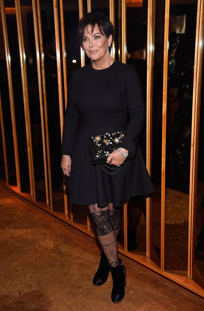 Kris Jenner at V Magazine's Intimate Dinner In Honour of Karl Lagerfeld, October 2017
