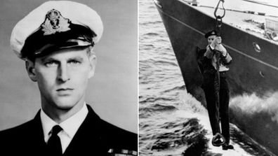 Prince Philip in the Navy