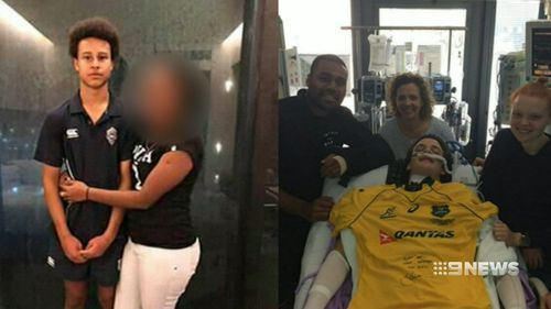 There have been four injuries of school boys in recent weeks, prompting an urgent review by Rugby Australia. Picture: 9NEWS