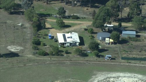 The family was found dead at the Forever Dreaming Farm in Osmington. (9NEWS)